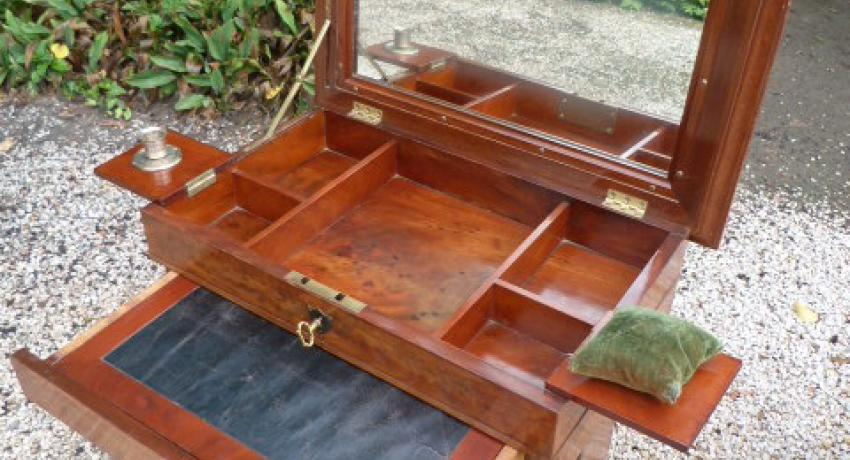 JB antique table write side empire
